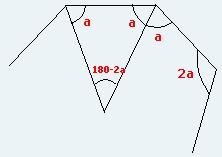 Polígono regular - (diagonais que não passam pelo centro) Trer12
