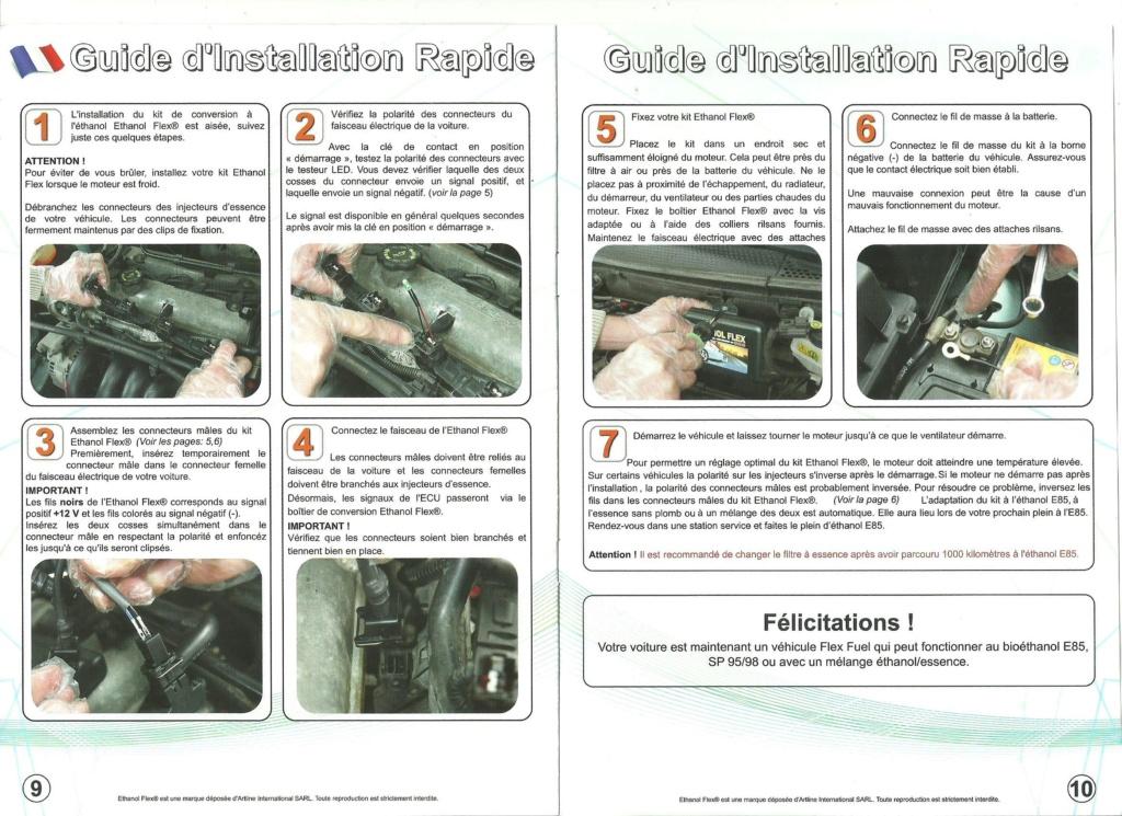 [Prépa] Comment rouler à l'éthanol (E85) avec ma 206cc ? - Page 22 Notice10