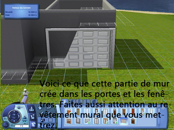 [Apprenti] Construction d'un garage accolé à une maison avec fondation. 1310