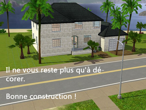 [Apprenti] Construction d'un garage accolé à une maison avec fondation. 1410