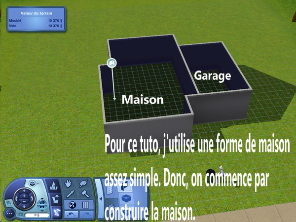 [Apprenti] Construction d'un garage accolé à une maison avec fondation. 210