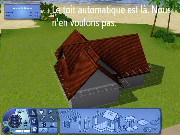 [Apprenti] Construction d'un garage accolé à une maison avec fondation. 3_10