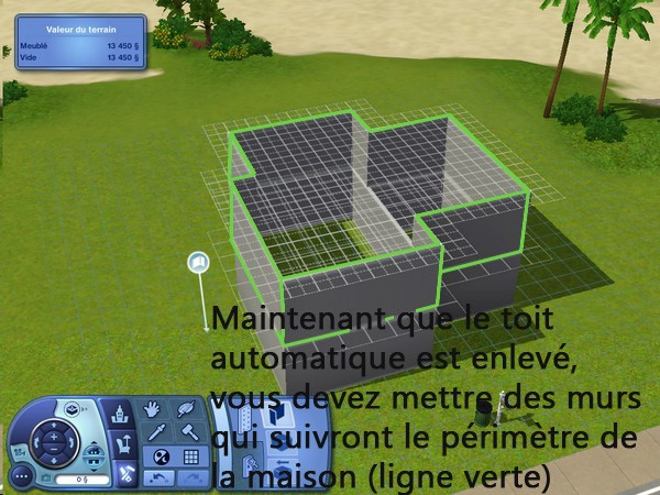 [Apprenti] Construction d'un garage accolé à une maison avec fondation. 510