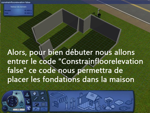 [Apprenti] Construction d'un garage accolé à une maison avec fondation. 611