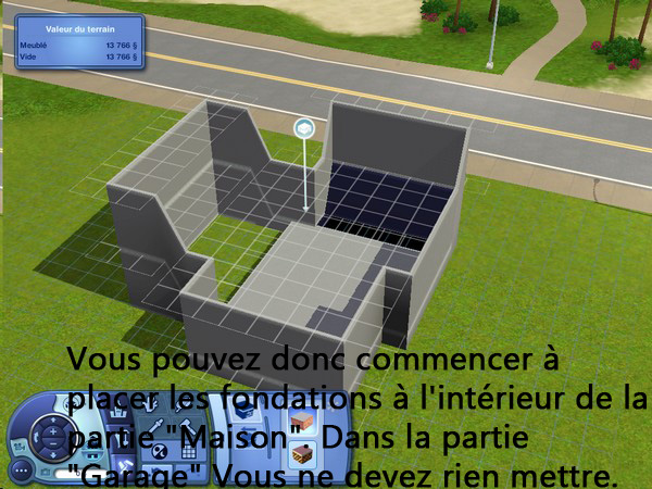 [Apprenti] Construction d'un garage accolé à une maison avec fondation. 711