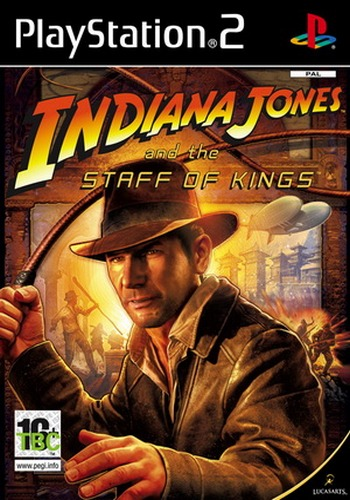 PS2 - Indiana Jones and the Staff of Kings Ps2_in10