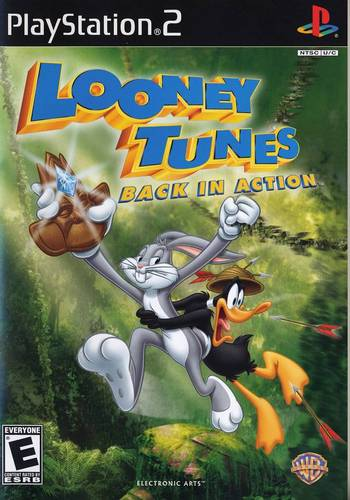 PS2 - Looney Tunes: Back in Action Ps2_lo10