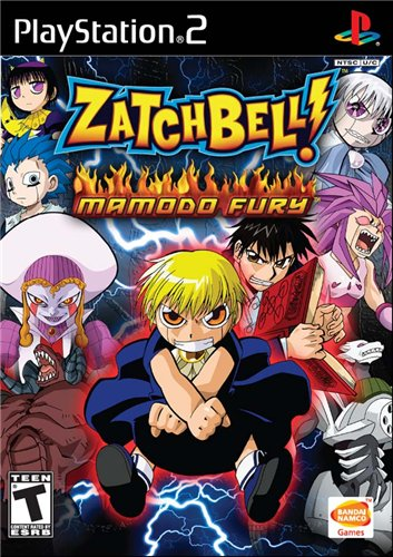 PS2 - Zatch Bell Mamodo Fury Ps2_za10