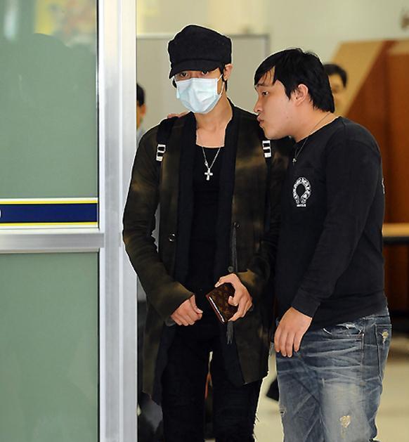 Kim hyung joong recuperado de la FAMOSA GRIPE 110
