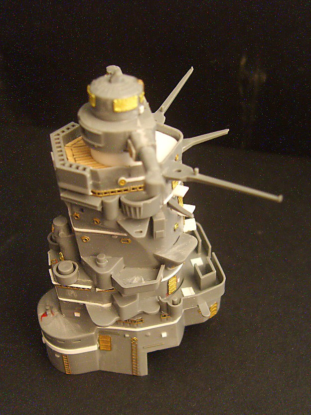 Step by Step building the IJN Yamato Sv209615