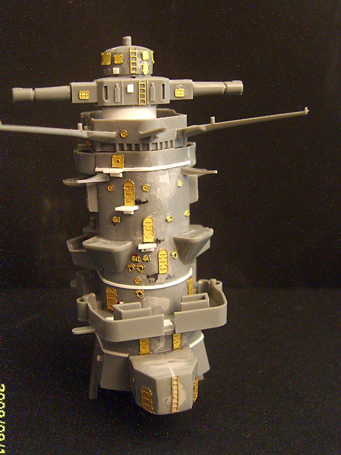 Step by Step building the IJN Yamato Sv209616