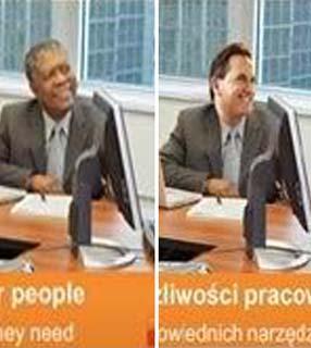 Microsoft pede desculpas após trocar cabeça de negro em foto 13030610