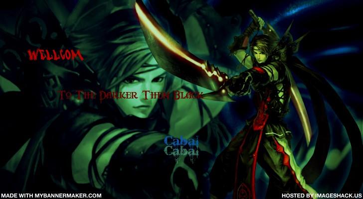 Darker Than Black Cabal Forum