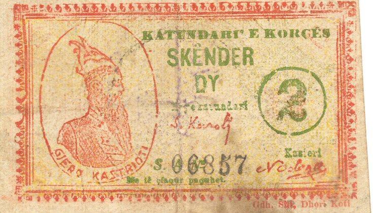 Kartmonedha  nga e kaluara Shqiptare 10alba10