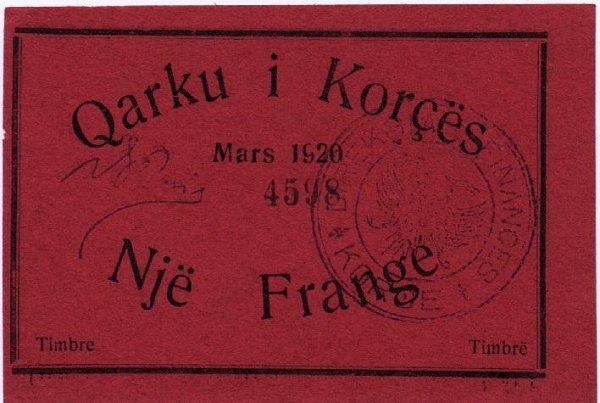 Kartmonedha  nga e kaluara Shqiptare 15alba10