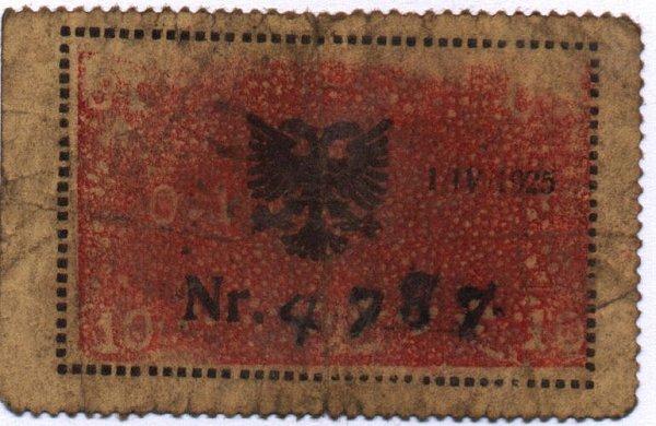 Kartmonedha  nga e kaluara Shqiptare 20alba10