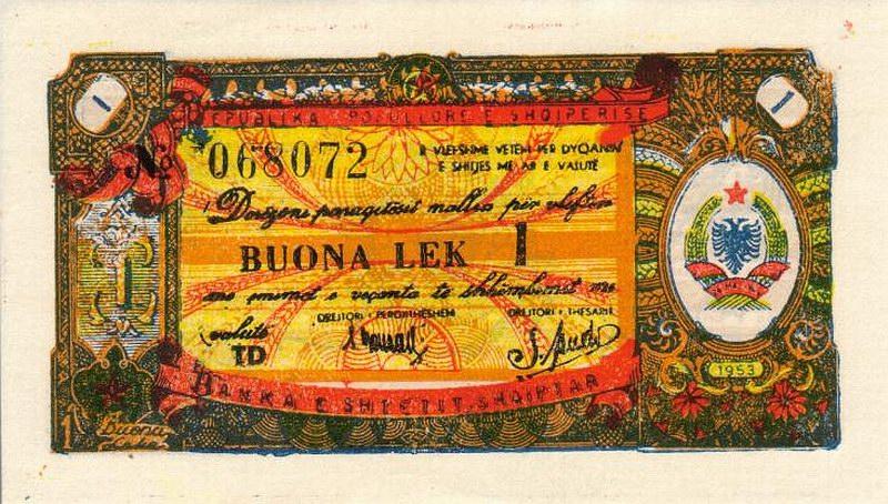 Kartmonedha  nga e kaluara Shqiptare 24alba10