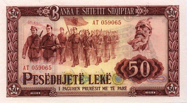 Kartmonedha  nga e kaluara Shqiptare 27alba10