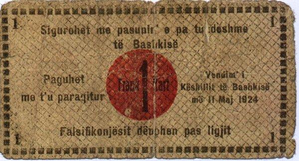 Kartmonedha  nga e kaluara Shqiptare 2alban10