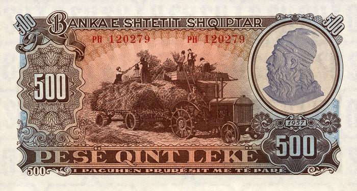 Kartmonedha  nga e kaluara Shqiptare 32alba10