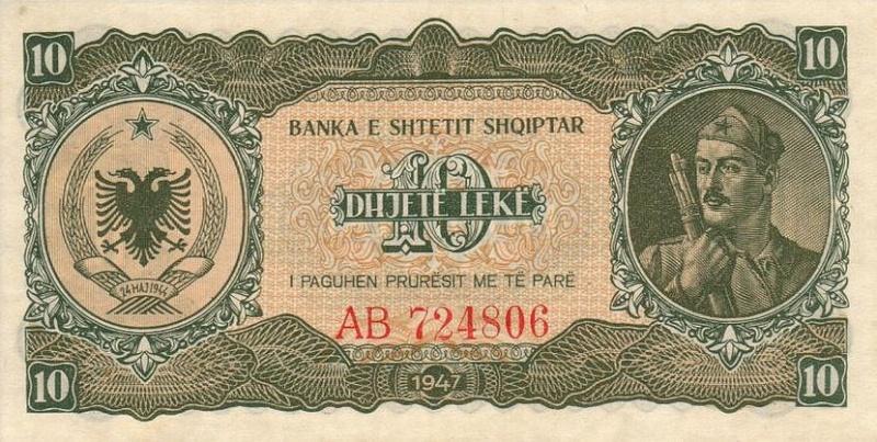 Kartmonedha  nga e kaluara Shqiptare 36alba10