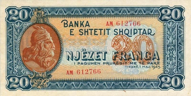 Kartmonedha  nga e kaluara Shqiptare 37alba10
