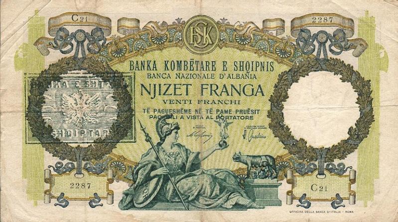 Kartmonedha  nga e kaluara Shqiptare 38alba10