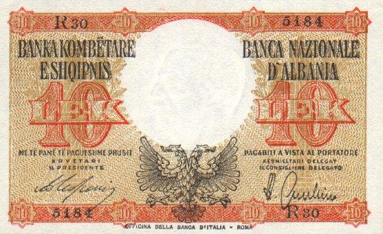 Kartmonedha  nga e kaluara Shqiptare 41hdfh10