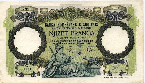Kartmonedha  nga e kaluara Shqiptare 44srtd10