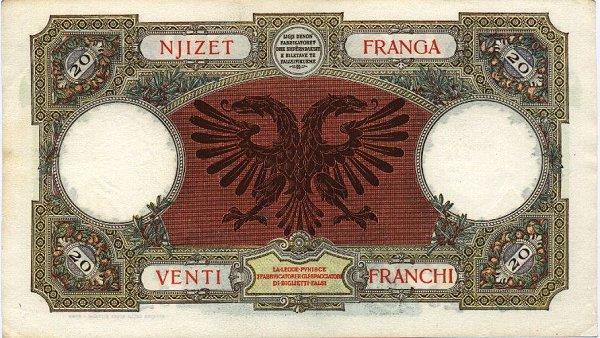 Kartmonedha  nga e kaluara Shqiptare 45dtue10