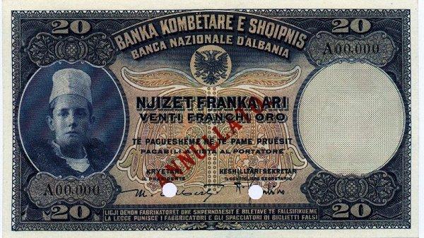 Kartmonedha  nga e kaluara Shqiptare 46tuet10