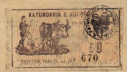 Kartmonedha  nga e kaluara Shqiptare 8alban10