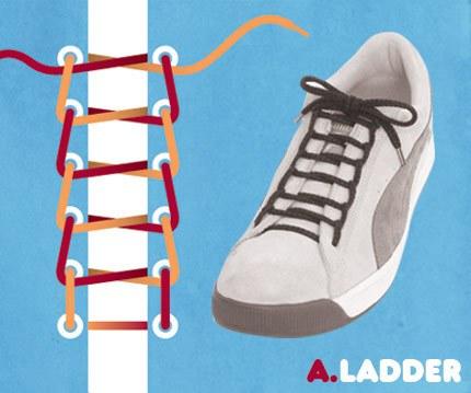 Cara-Cara Unik Mengikat Tali Sepatu 310