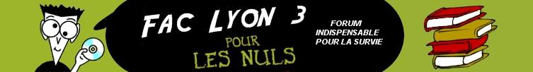 Le forum des étudiants de l'Université Lyon 3