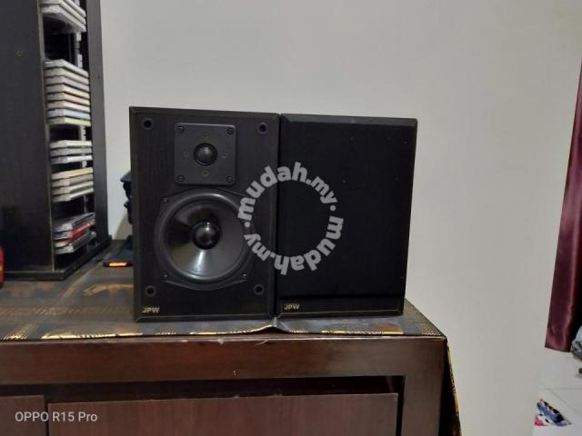 JPW Gold Monitor Bookshelf Speakers ( Used ) Front10