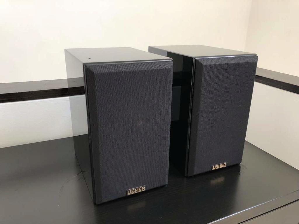 Usher S-520 Bookshelf Speaker ( SOLD ) Img-2013