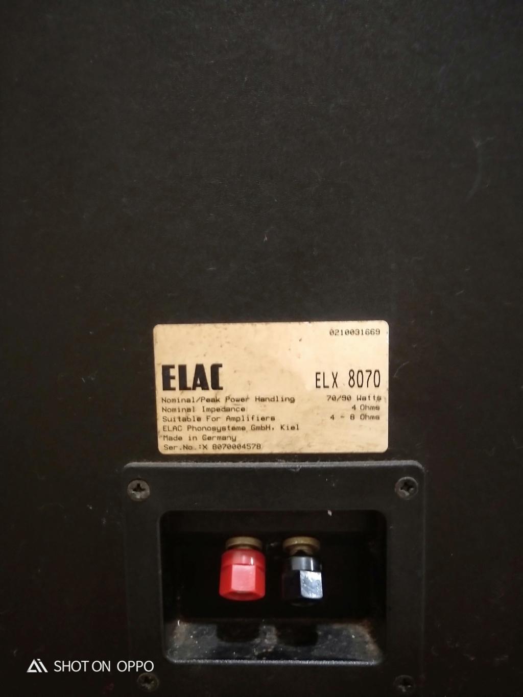 Elac Elx 8070 Speaker (SOLD) Img20124