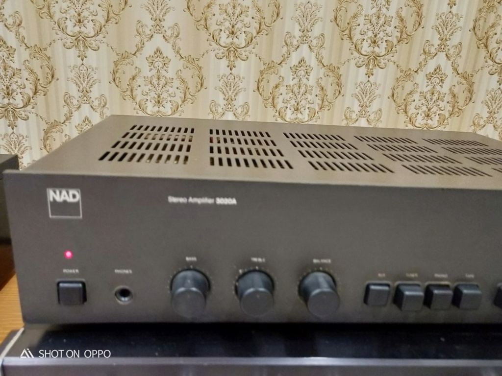 NAD 3020A Stereo Integrated Amplifier ( SOLD ) Img20135