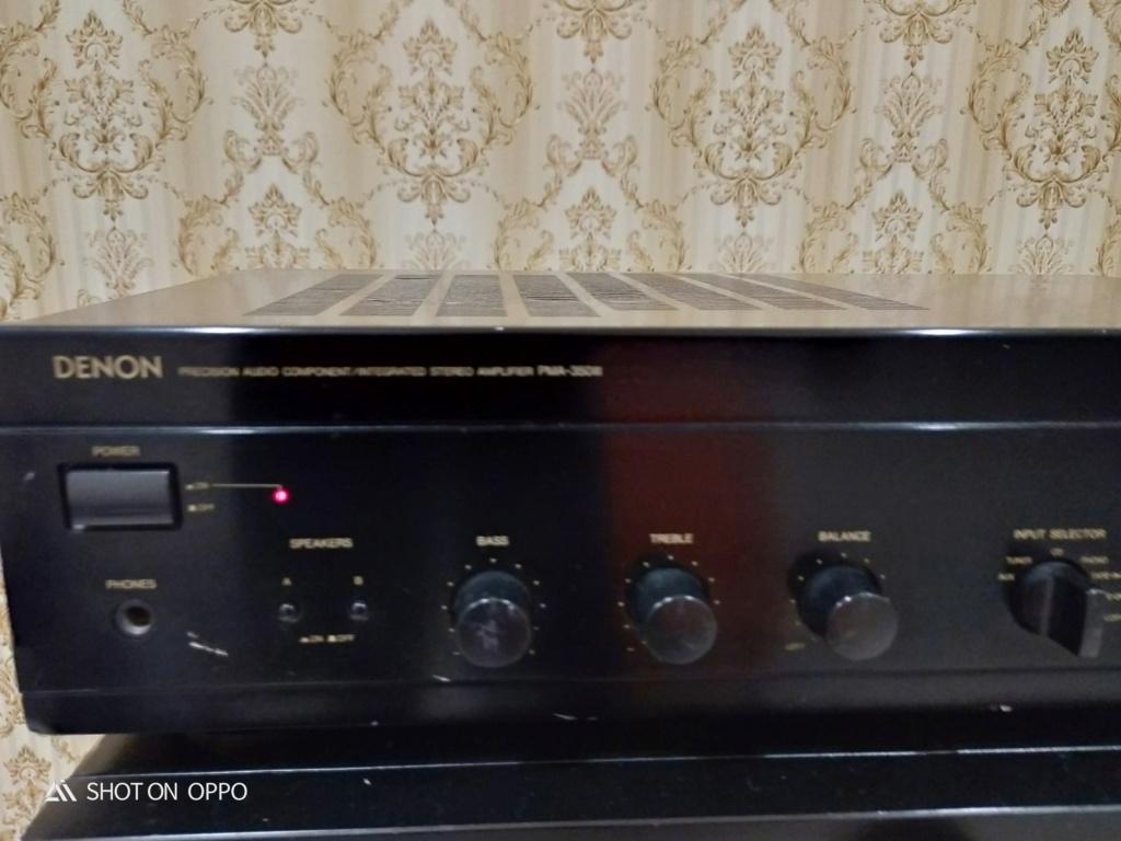 Denon PMA 350 MK II Amplifier ( Closed ) Img20148