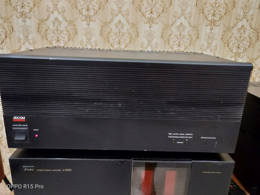 Adcom GFA-555 II Power Amplifier (SOLD) Img20210
