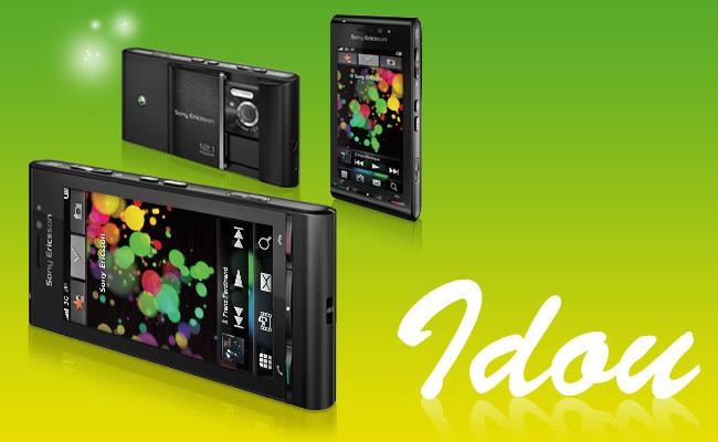 Sony Ericsson Satio Announced (formerly known as Idou) Idou_m10