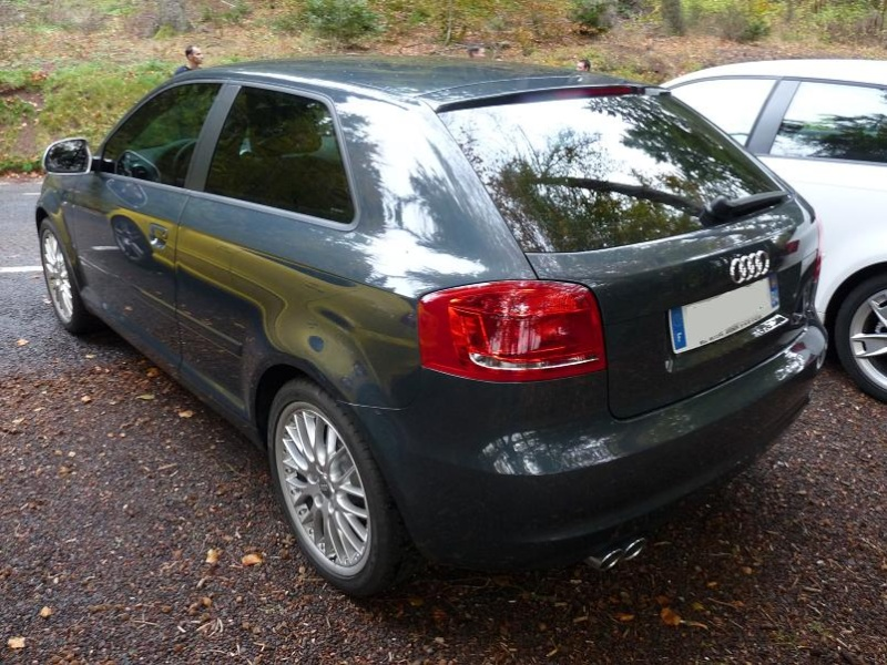 [Photo-Reportage] Audi A3 Facelift Meteor Grey P1030732