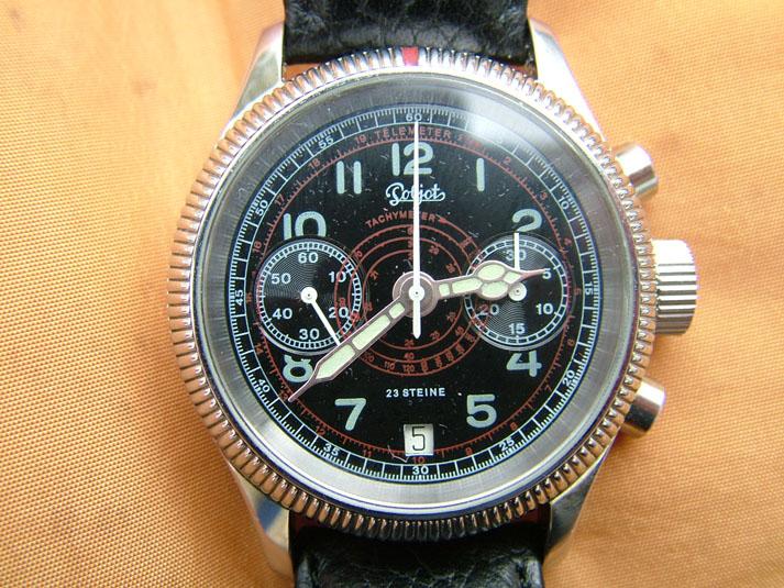 Flieger Uhr germano-russe Fliege10