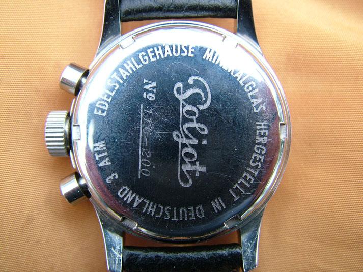 Flieger Uhr germano-russe Fliege11