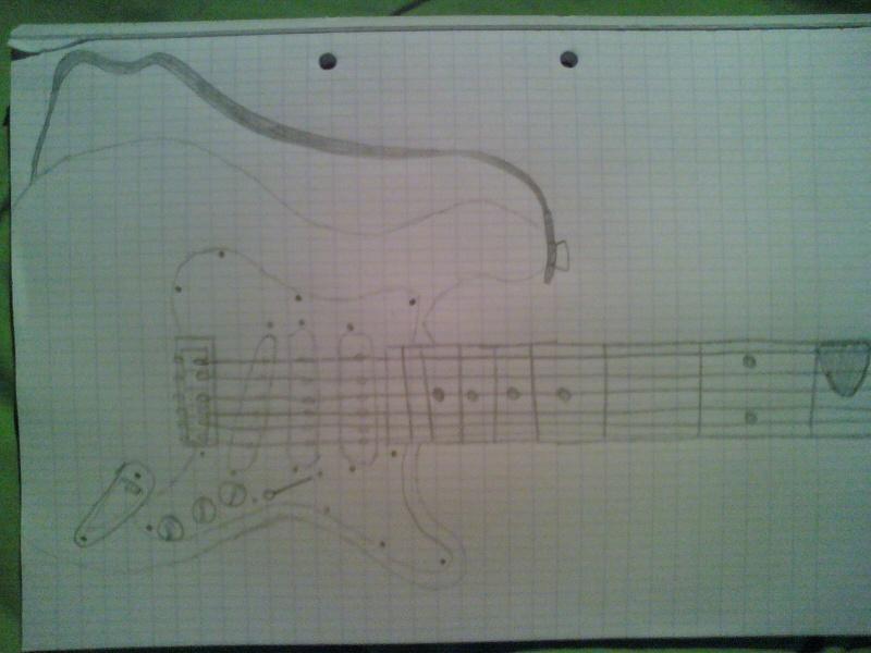 Le dessin de ma guitare elecktrique ^^ 09091511