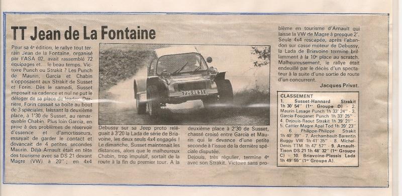 RETRO : Jean de la Fontaine 79 Articl13