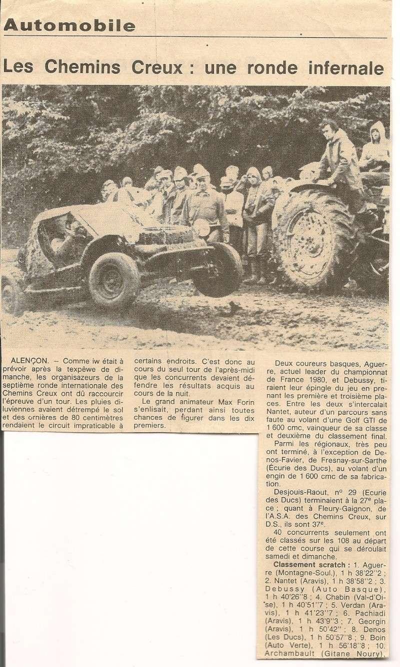 RETRO Chemins Creux 1980 Articl14