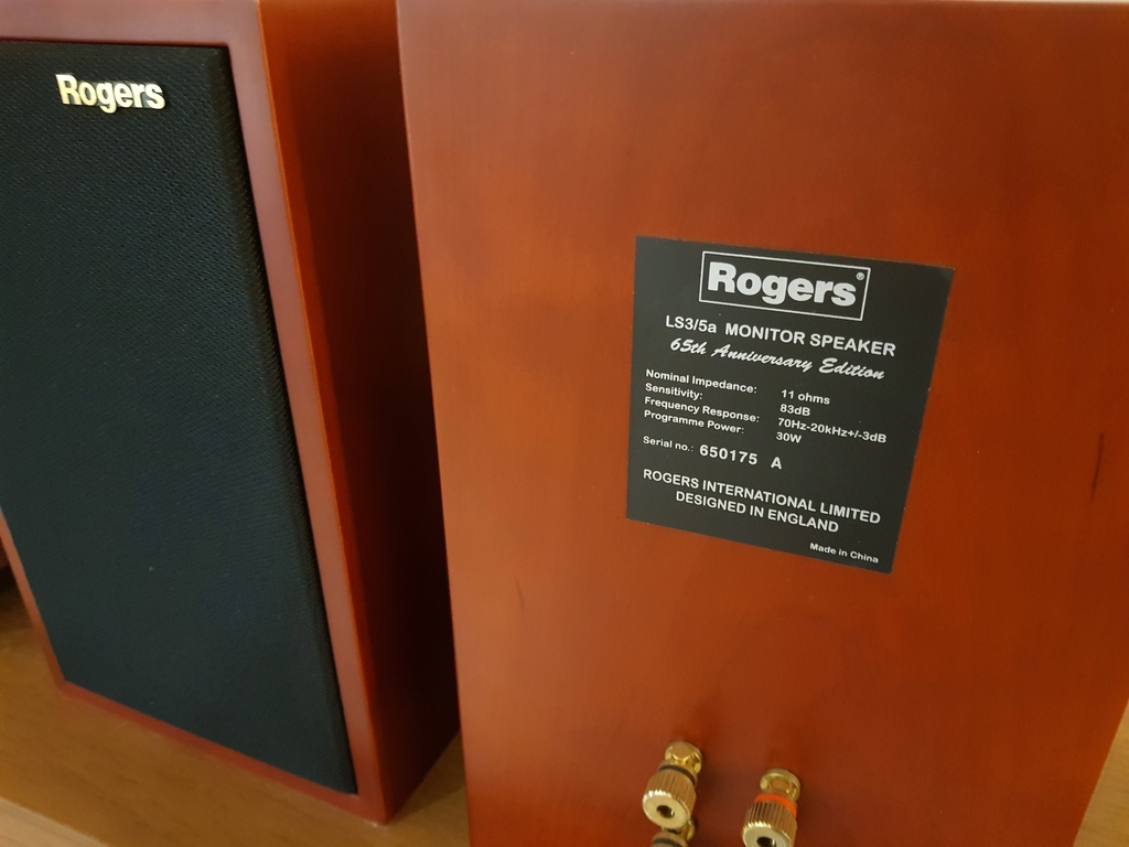 Rogers LS35a 65th Aniversary monitor 20180612