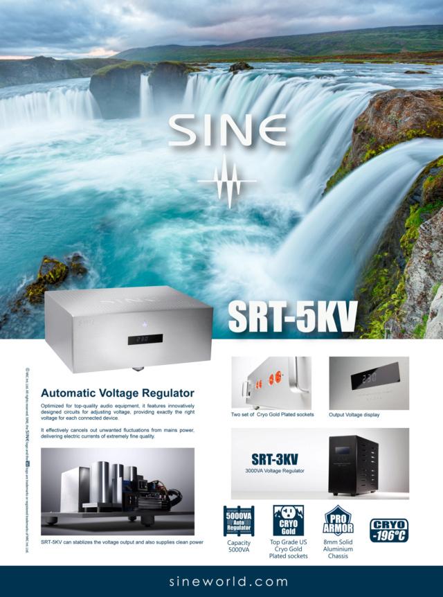 SINE Srt3kv audio grade voltage regulator Srt5kv11