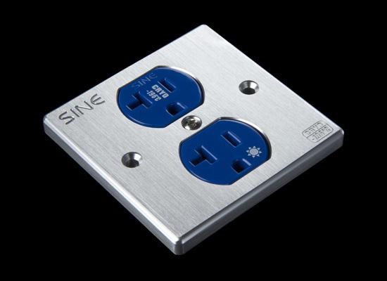 Sine Platinum Wall Outlet -Latest Version Sw2p-u10